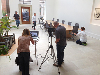 CCN International Photoshoot at The Left Bank Gallery