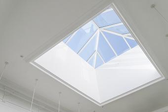 The Left Bank Gallery Skylight